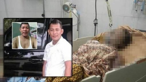 DORRR...Polisi Tembak Iwan Kincit, Pelaku Pelaku Pembakar Gadis 16 Tahun