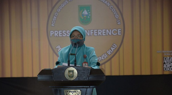 Meledak, Ini Rincian 71 Kasus Positif Covid-19 di Provinsi Riau Hari Ini