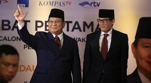 Analisa Big Data: Pilpres Sudah Selesai, Prabowo-Sandi Menang!