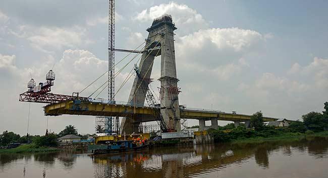 HOREEE...Februari, Jembatan Siak IV Pekanbaru Bakal Difungsikan