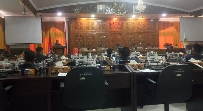 Bupati Mursini Sampaikan LKPJ Tahun 2019