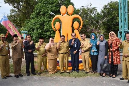 Desa Resam Lapis Jadi Kampung KB Kabupaten Bengkalis