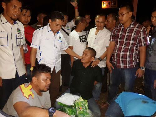 Polda Riau Gagalkan Penyelundupan 29 Kg Sabu yang Dibungkus Kemasan Teh Cina