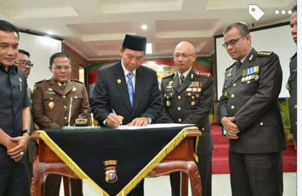 Wako Firdaus Resmikan Gedung Tambahan Polresta Pekanbaru