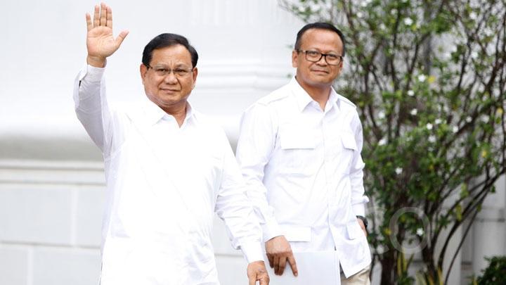 Kini Sama-sama Jadi Menteri, Prabowo: Edhy Hebat, Siapa Sangka Dulu Dia Ajudan, Sopir, Tukang Pijit Saya