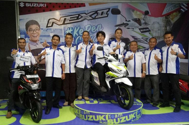 Sasar Generasi Milenial, Segini Target Penjualan Suzuki NEX II di Riau