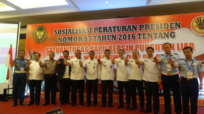 Pemprov Riau Gelar Sosialisasi Tugas Satgas  Saber Pungli