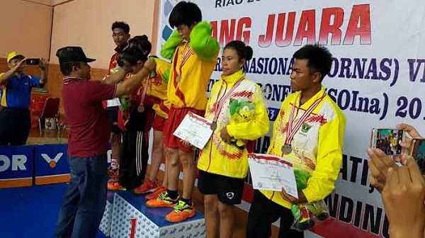Raih 52 Medali, Riau  Pertahankan Gelar Juara Umum Pornas SOina 2018