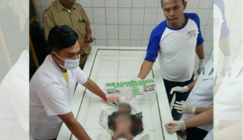 MEMANG KEJAM... Baru Lahir, Bayi Perempuan Dibunuh Lalu Dibuang ke Tong Sampah