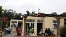 Puluhan Rumah di Desa Baru Siak Hulu Rusak Dihantam Puting Beliung, Begini Penampakannya...