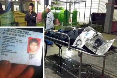 TRAGIS...Gagal Nyalip dan Disenggol Mobil, Salman Alfarizi Tewas Terlindas