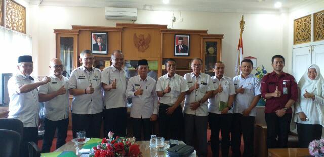 BPJamsostek Gelar Pertemuan Bersama Pemerintah Kabupaten Pelalawan
