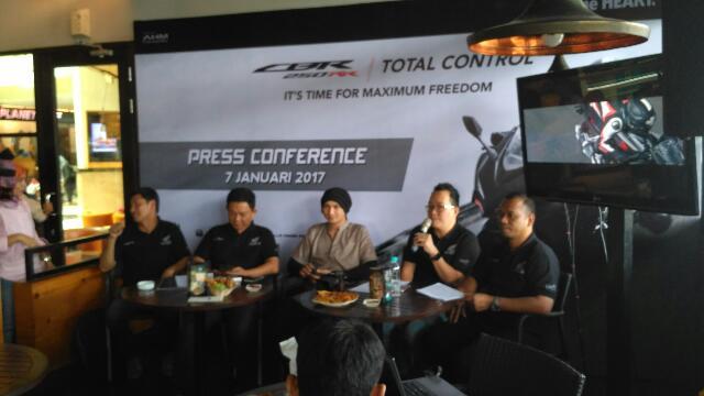 All New Honda CBR 250 RR Mulai Mengaspal di Riau