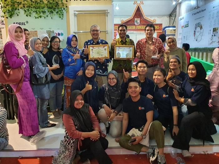 PT RAPP Raih Stan Terbaik Pelalawan Expo, Program  School Improvement Diminati Pengunjung