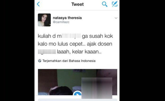 GEGER...Beredar Video Porno Diduga Mahasiswi Cantik dengan Dosen Universitas Ternama di Jakarta