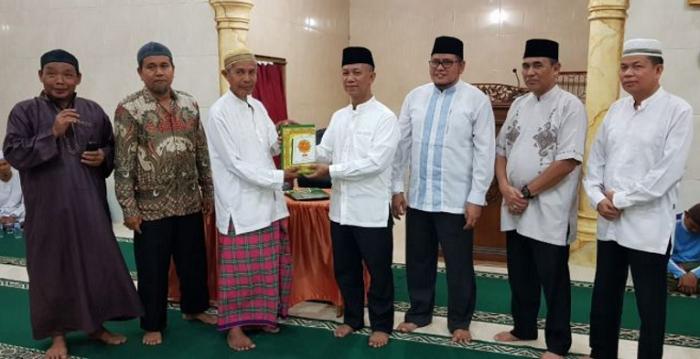 Rektor UIR Safari Ramadhan Perdana di Masjid An Naba Pekanbaru