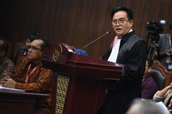 Jawab Permohonan Gugatan Prabowo-Sandi, Yusril Kutip Ayat Al-Quran