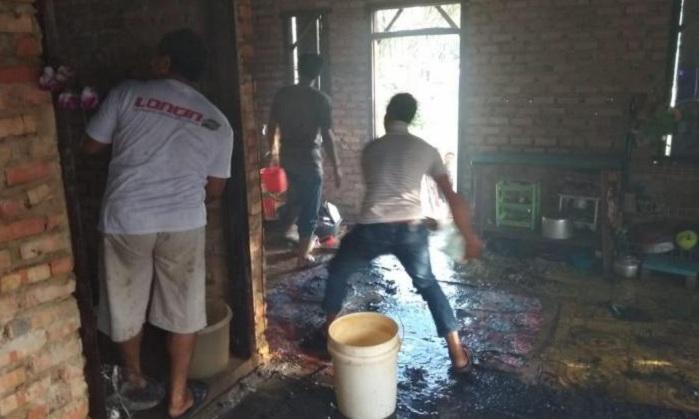 Ibu Tak Percaya Rumahnya Terbakar, Bocah 2,5 Tahun di Kampar Malah Tewas Dijilat Api