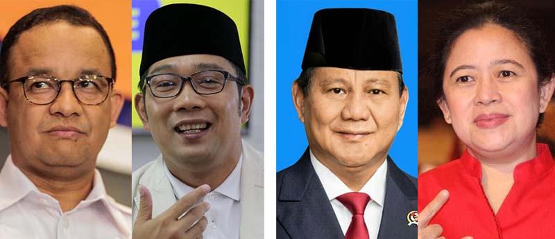 Jokowi Tak Maju Lagi, Pengamat: Terbuka Peluang Prabowo-Puan Vs Anies-Emil di Pilpres 2024