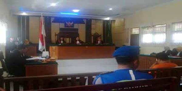 Alex, Bandar Narkoba Inhu Dituntut 14 Tahun Penjara dan Denda Rp2 Miliar