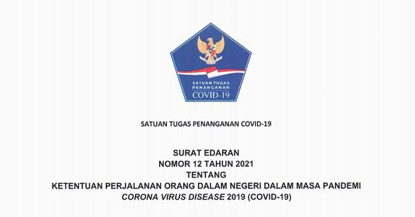 Berlaku Mulai  1 April, Satgas Covid-19  Tetapkan Syarat Melakukan Perjalanan di  Dalam Negeri