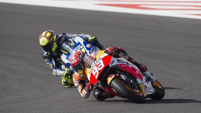 Wow, Lorenzo Ternyata Tak Suka Rossi Tendang Marquez