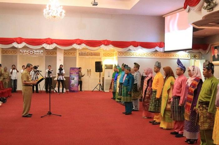 Gubri Lantik Dewan Perpustakaan Riau, Ini Pesannya