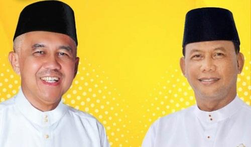Lepas Asyar di Masjid Agung Annur Sore Ini, Andi Rachman-Suyatno juga Istri  Daftar ke KPU Riau