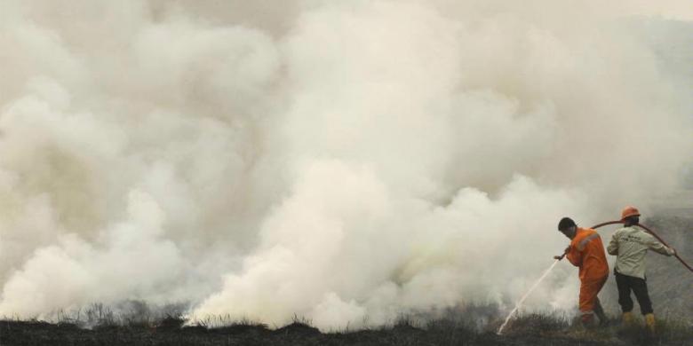 Khawatir, AU Singapura Pantau Lokasi Rawan Karlahut di Riau