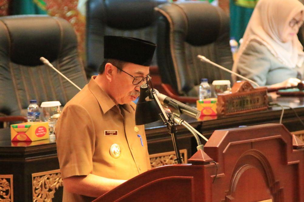 DPRD Riau Sahkan Lima Ranperda Sekaligus