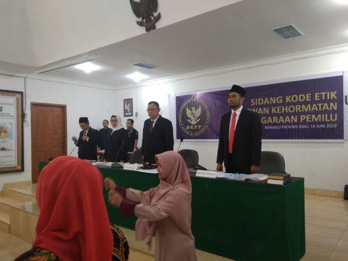 Hasil Sidang Suhardiman-KPU Kuansing Tunggu Pleno DKPP RI