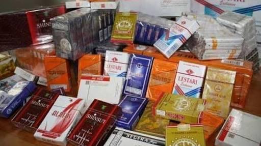 Dibawa dari Batam, Penyelundupan Rokok Ilegal Senilai Rp 1,5 M di Riau Digagalkan