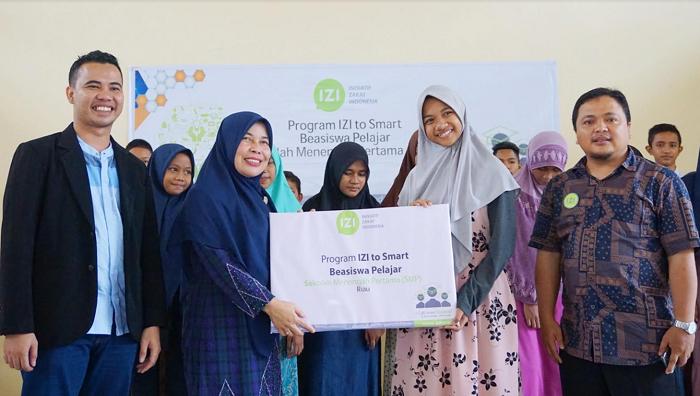 IZI Riau Launching Program IZI to Smart