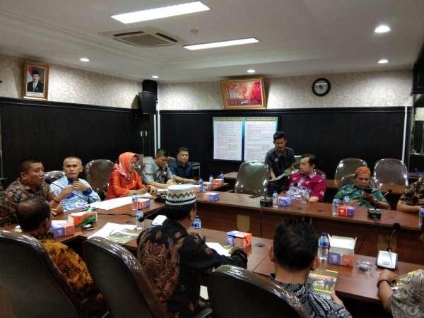 DPRD Kabupaten Sijunjung Kunjungi DPRD Pekanbaru