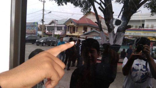 BREAKING NEWS... Lapas Kepas II A Pekanbaru di Gobah Ditembaki  Orang Tak Dikenal