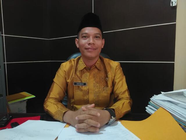 2019, Rehab Jaringan Irigas Sei Menaming-Rohul Dilakukan