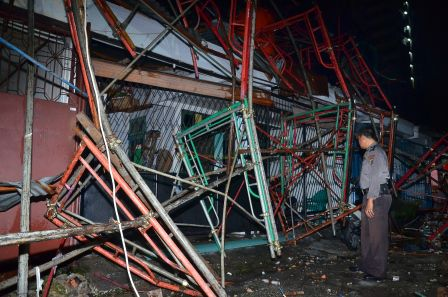 Murni Kelalaian, Pimpro Pembangunan Tangram Hotel terncam Jadi Tersangka