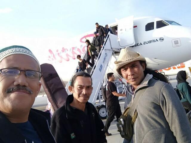 Forum Pemred Riau, APSI & KPJ Menempuh Perjalanan Darat Menuju Donggala