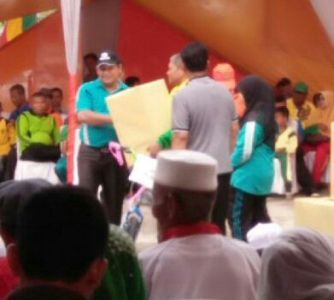 Hari Amal Bhakti, Kemenag Riau Taja Jalan Santai