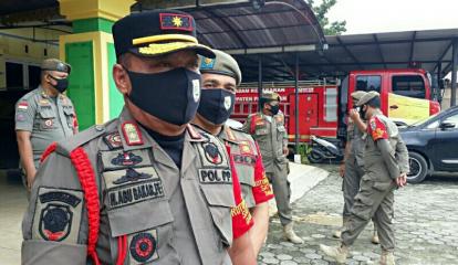 Razia Masker Kembali Digencarkan di Pelalawan