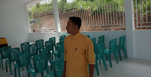 Pemdes Rambah Samo Barat Bangun Gedung Pertemuan