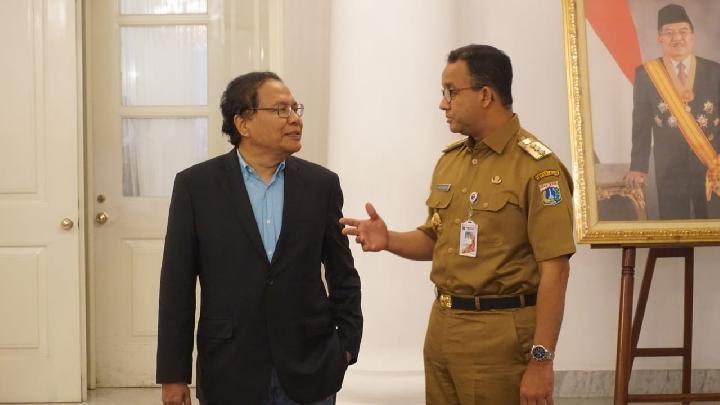 Rizal Ramli Puji Anies Tangani Corona, Lebih Baik dari Pejabat Pusat, Said Didu: Siap-siap Dibully Menteri Bang!