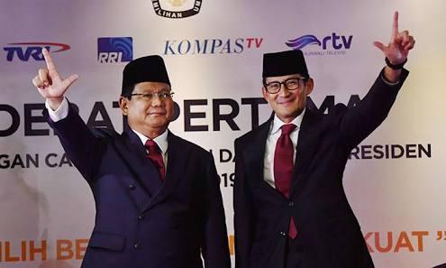 Perbaiki Gugatan ke MK, Prabowo-Sandi Klaim Menang Pilpres 52 Persen