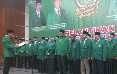 Romi Lantik Azis Zaenal Sebagai Ketua PPP Riau