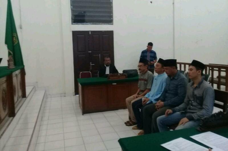 Empat Terdakwa Sedikat Narkoba 31 Kg Sabu Asal Rohil dan Dumai Dituntut Penjara Seumur Hidup