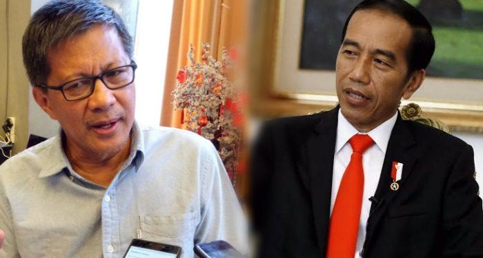 'Ramal' Jokowi Tak Sampai 2024, Rocky Gerung: Dia Tak Mampu Mengolah Public Issue