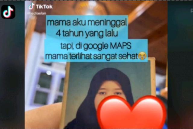 Padahal Sudah Meninggal 4 Tahun Lalu, Wanita Ini Temukan Ibunya Sehat Wal'afiat Saat Telusuri Google Maps