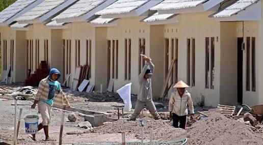 Pemerintah Mulai Bangun 166 Rumah Sehat Layak Huni di Siak