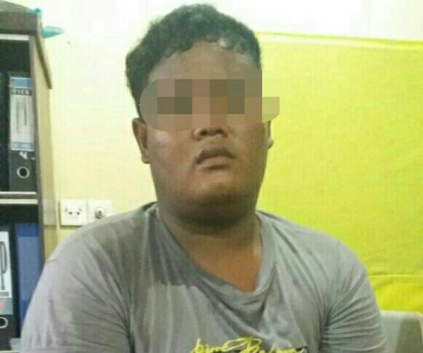 TERLALU...Pria Tambun di Rohil Gelapkan Mobil Abang Ipar, Tertangkap Lagi di Hotel