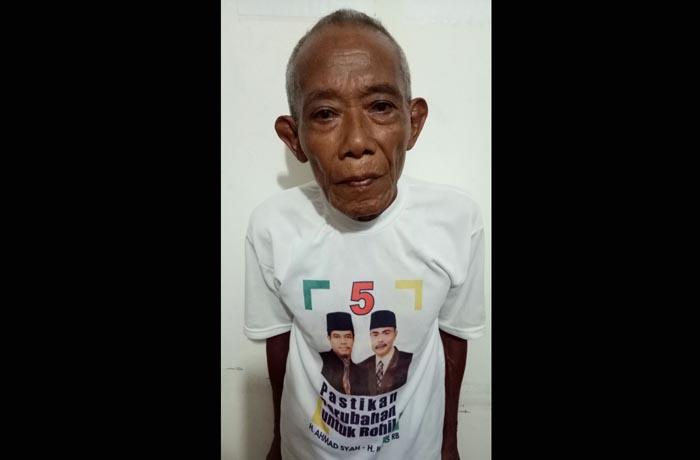 DASAR BIADAB...Sudah Bau Tanah, Kakek 72 Tahun di Rohil Ini Perkosa Anak Tiri Berulang Kali
